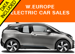 BMW i3 Top selling electric car October