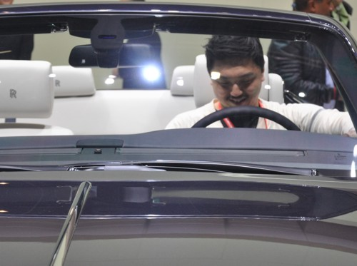 China Rolls-Royce drop top 2013