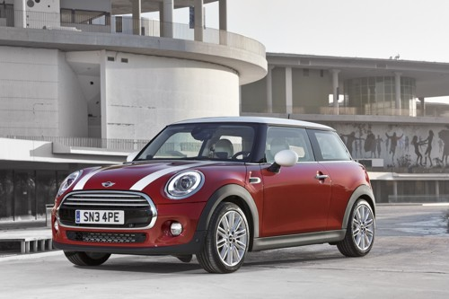 BMW Mini 2014MY front three quarter red