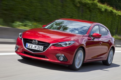 New Mazda3 2014MY road test AID