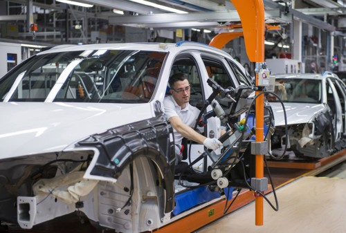 Audi Q5 production line Ingolstadt Germany