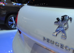 Peugeot badge rear Geneva