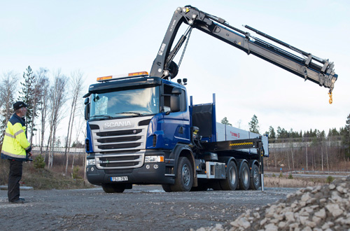 Scania truck 2014MY over 16t GVW