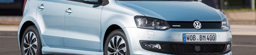 2014MY Volkswagen Polo Bluemotion side
