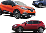 SUV Crossover car collection 2014