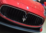 Maserati front grill red