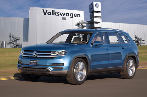 Chattanooga USA Volkswagen SUV-Crossover blue concept