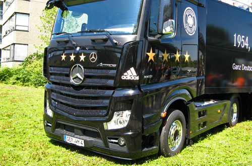 WM truck world cup 2014 Wörth Germany Daimler Mercedes