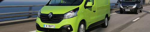 Vantastique New Renault Trafic green