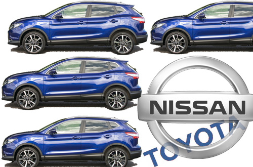 Nissan about to topple Toyota in Europr Nissan Qashqai Crossover