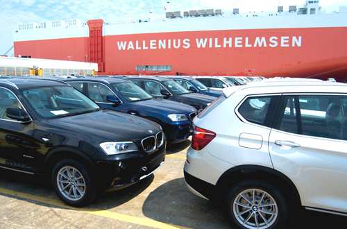 BMW Export shipping USA China