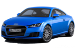 Audi TT 2015MY blue studio shot