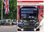 German car production going to UK 2014