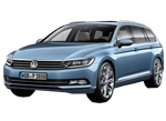 New product vehicle evaluation VW Passat 2015MY Varriant Estate Blue