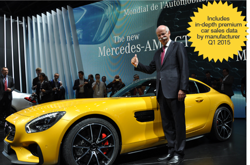 Dieter Zetsche looking happy thumbs-up Paris 2014 Motor Show AID Newsletter www.eagleaid.com