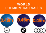 Worldwide premium luxury car sales Q3 2015