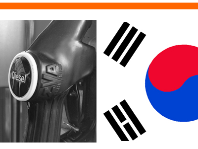 South Korea Diesel sales 2016