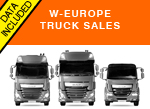 West Europe first half truck sales trends