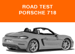Porsche Boxster 718 Road Test AID Newsletter