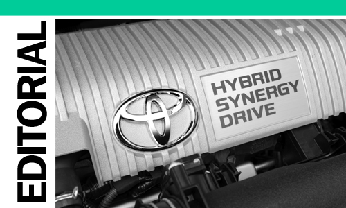 Toyota Hybrid synergy drive AID Newsletter Report Editorial