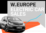 West European Electric car sales May history 2017